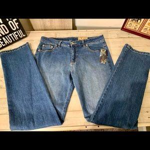 NWT❤️V Cristina True Blue Jeans-Sz 12